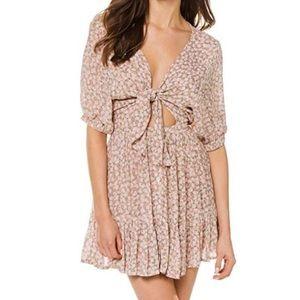 Faithfull the Brand szL Marigot floral mini dress